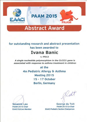 abstract award ib